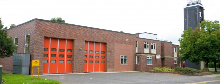 Elm Lane fire station