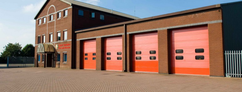 This is a photo of Rotherham fire station
