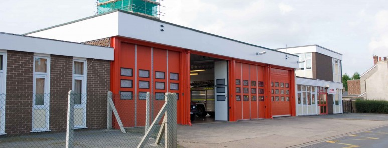 This is a photo of Thorne fire station