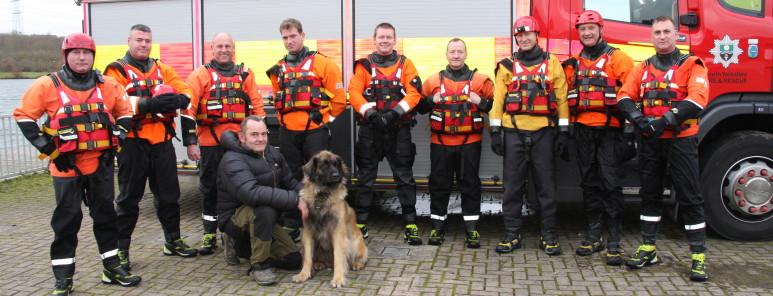 Water Rescue Training CPC White Watch Rescue Dogs. RVCP Dec17 328