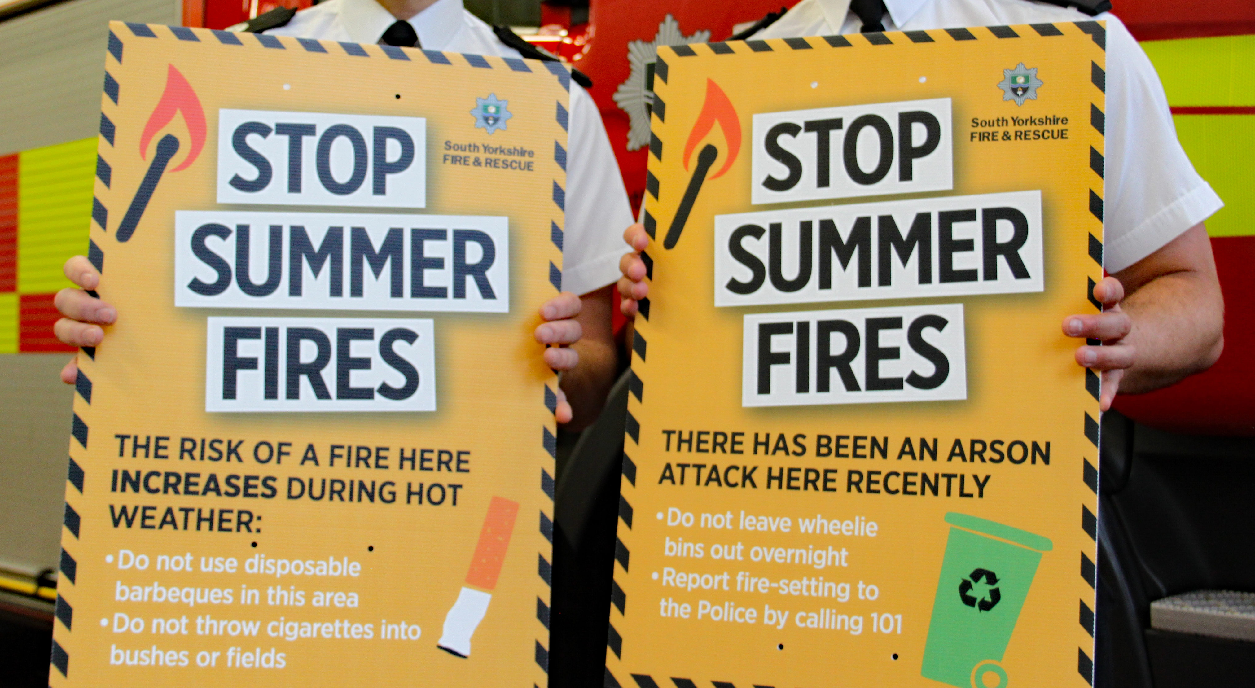 Fire Service Asks For Public Help After Hottest Summer On Record South Yorkshire Fire And Rescue