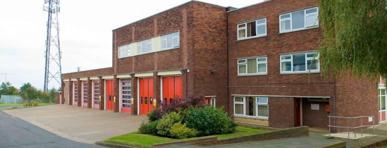 Barnsley fire station