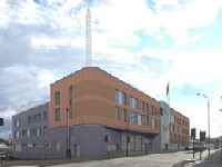This is a photo of Central fire station