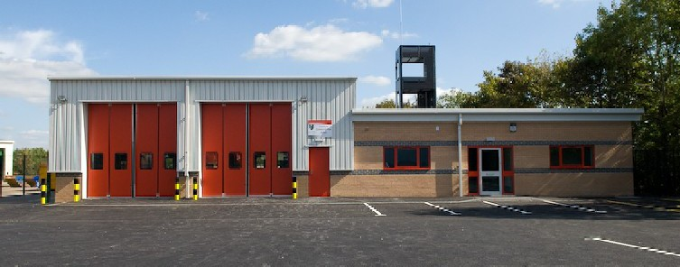 This is a photo of Penistone fire station