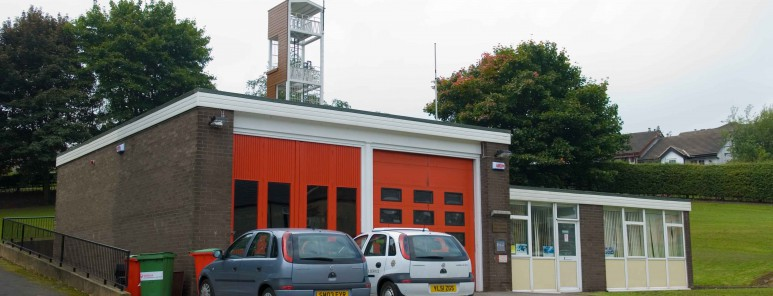 This is a photo of Stocksbridge fire station