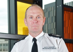 Chief Fire Officer James Courtney