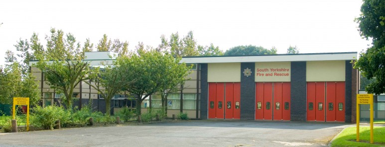This is a photo of Lowedges fire station